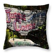 Jungle Cruise Throw Pillow