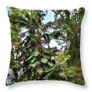 Jungle Harmony Throw Pillow