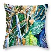 Jungle Heat Throw Pillow