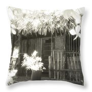 Jungle Hideaway Throw Pillow