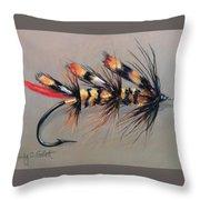 Jungle Hornet Throw Pillow