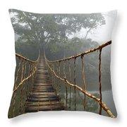Jungle Journey 2 Throw Pillow by Skip Nall