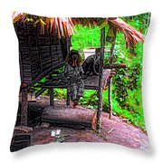 Jungle Life Throw Pillow