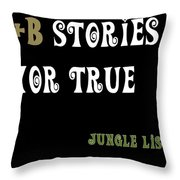 Jungle Listed Throw Pillow