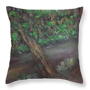 Jungle Rules Throw Pillow