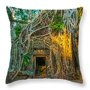 Jungle Takeover Throw Pillow