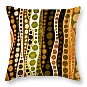 Jungle Tales Throw Pillow