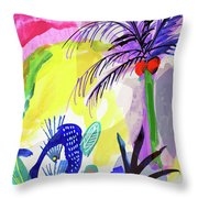 Jungle Vision Throw Pillow