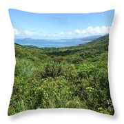 Jungleized Valley Throw Pillow