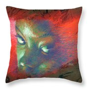 Junglevision Throw Pillow
