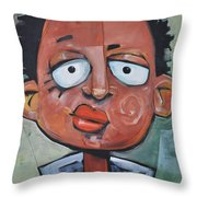 Junior Artist Throw Pillow