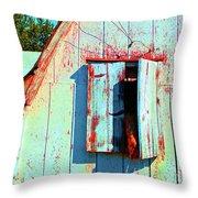 Junior's Barn Window Throw Pillow