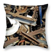 Junk 1 Throw Pillow