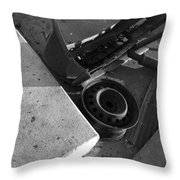 Junk #1 Throw Pillow