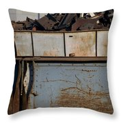 Junk 10 Throw Pillow