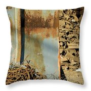 Junk 12 Throw Pillow