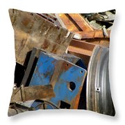 Junk 13 Throw Pillow