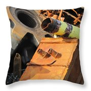 Junk 17 Throw Pillow