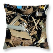 Junk 2 Throw Pillow