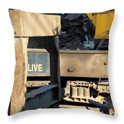 Junk 6 Throw Pillow