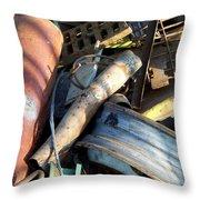 Junk 9 Throw Pillow