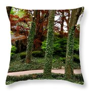 Junk On The Trunks Throw Pillow