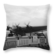Junkers G38 Throw Pillow