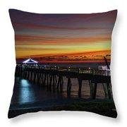 Juno Pier Twilight Wide Throw Pillow