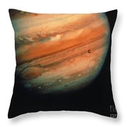 Jupiter, Europa, & Io Throw Pillow