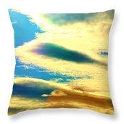 Jupiter Rising Throw Pillow