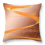 Jupiter Wrapped Around My Fingers Throw Pillow