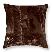 Juraissic Palm Number 1 Throw Pillow
