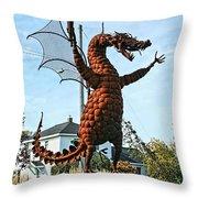 Jurustic Park - 1 Throw Pillow