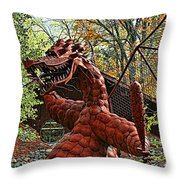 Jurustic Park - 3 Throw Pillow