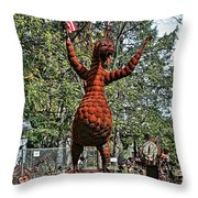 Jurustic Park - 4 Throw Pillow