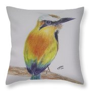 Juruva Bird Throw Pillow