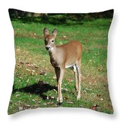 Just A Baby Throw Pillow