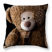 Just A Bear Throw Pillow