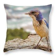 Just A Bird Throw Pillow