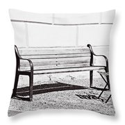 Just A Chat Throw Pillow