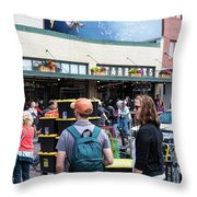Just A Cuppa Throw Pillow