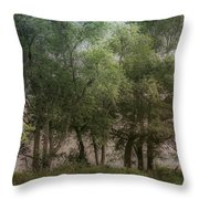 Just A Few Trees Throw Pillow