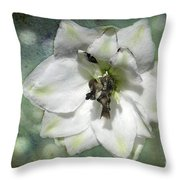 Just A Flower Throw Pillow