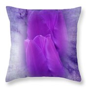 Just A Lilac Dream -1- Throw Pillow by Issabild -