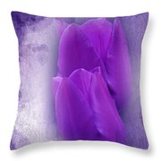 Just A Lilac Dream -2- Throw Pillow by Issabild -