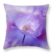 Just A Lilac Dream -3- Throw Pillow by Issabild -