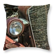 Just A Little Rust Throw Pillow