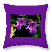 Just A Little Wild Flower Throw Pillow