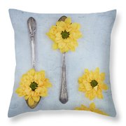 Just A Spoonful Throw Pillow