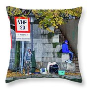 Just Another Day In The Hood 3 Throw Pillow